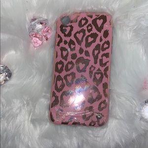 Accessories - Leopard 🐆 💞Pink iPhone Case Set